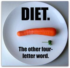 Image result for diet the 4 letter word