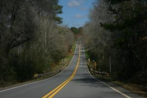 Uphill-road